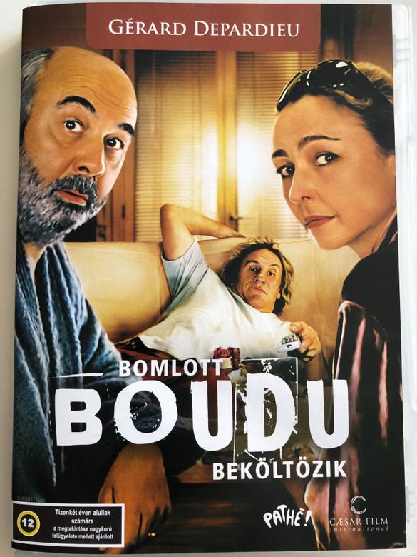 Boudu DVD 2005 Bomlott Boudu Beköltözik / Directed by Gérard Jugnot / Starring: Gérard Depardieu, Catherine Frot, Gérard Jugnot (5999882974354)