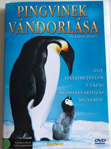 The Emperor's Journey DVD 2005 Pingvinek Vándorlása / Directed by Luc Jacquet / Narrated by Charles Berling, Romane Bohringer, Jules Sitruk, Kőszegi Ákos, Kubik Anna, Morvay Bence / Documentary about penguin migration (5999030480911.)