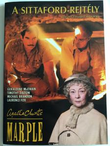 Marple: The Sittaford Mystery DVD 2006 A Sittaford-Rejtély - Agatha Cristie - Marple / Directed by Paul Unwin / Starring: Geraldine McEwan, Timothy Dalton, Michael Brandon, Laurence Fox (5999546332223)