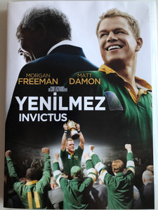 Invictus DVD 2009 Yenilmez / Directed by Clint Eastwood / Starring: Morgan Freeman, Matt Damon (8697333609981)