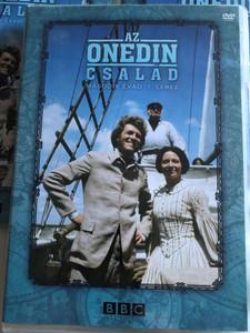 The Onedin Line DVD 1972 Az Onedin család / Season 2 - Disc 1 - Második évad 1. Lemez / Created by Cyril Abraham / Starring: Peter Gilmore, Anne Stallybrass, Jessica Benton, Howard Lang / UK television series (5996473003394)