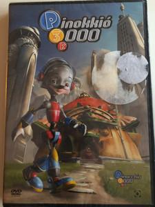 Pinokkió 3000 DVD 2004 Pinocchio 3000 (P3K) / Directed by Daniel Robichaud / Starring: Malcolm McDowell, Whoopi Goldberg, Howie Mandel, Helena Evangeliou (5999544255739)