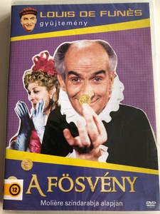 L'Avare DVD 1980 A Fösvény (The Miser) / Directed by Jean Girault, Louis de Funès / L'Avare de Molière / Starring: Louis De Funés, Franck Cabot-David, Hervé Bellon / De Funes gyűjtemény (5996473012945)