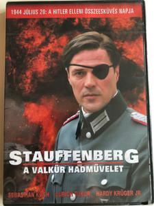 Stauffenberg: Operation Valkyrie DVD 2004 A Valkűr hadművelet / Directed by Jo Baier / Starring: Sebastian Koch, Lrich Tukur, Hard Krüger Jr. Nina Kunzendorf (5999546332087)
