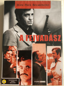 L'Alpagueur DVD 1976 A Fejvadász (The Hunter Will Get You) / Directed by Philippe Labro / Starring: Jean-Paul Belmondo, Bruno Cremer / Black & White (5999554700656)