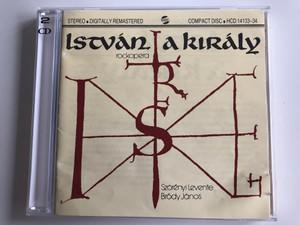 István, A Király (Rockopera) / Szörényi Levente - Bródy János / Gong 2x Audio CD 1993 Stereo / HCD 14133-34