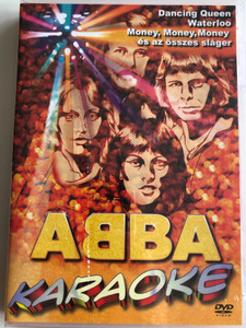 Abba Karaoke DVD / Dancing Queen, Waterloo, Money, money money és az összes sláger / All the great hits / Original English lyrics with 5.1 sound (5999883049471)