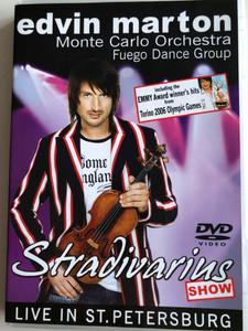 Edvin Marton - Stradivarius Show DVD 2008 Live in St. Petersburg / Monte Carlo Orchestra - Fuego Dance Group (5999882983127)