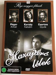 Hazajáró lélek (1940) DVD / Directed by Zilahy Lajos / Starring: Karády Katalin, Páger Antal, Kiss Manyi, Csortos Gyula / Hungarian B&W Classic film / Régi Magyar filmek 13. (5999882685120)