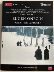 Eugen Onegin DVD Peter I. Tschaikowsky / Directed by Petr Weigl / Sir Georg Solti, Orchestra of the Royal Opera House, Covent Garden / 400 Jahre Oper Vol. 4 (9783829119894)
