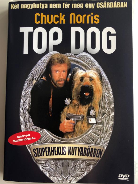 Top Dog DVD 1995 Szuperhekus Kutyabőrben / Directed by Aaron Norris / Starring: Chuck Norris, Michele Lamar Richards, Erik von Detten, Carmine Caridi (5999551920040)