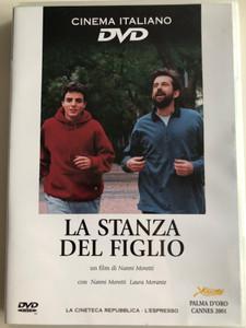 La Stanza del figlio DVD 2001 The Son's room / Directed by Nanni Moretti / Starring: Nanni Moretti, Laura Morante, Jasmine Trinca, Giuseppe Sanfelice, Silvio Orlando / Cinema italiano (Son'sRoomDVD)