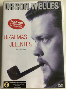Mr. Arkadin DVD 1955 Bizalmas Jelentés (Confidential Report) / Directed by Orson Welles / Starring: Orson Welles, Robert Arden, Paola Mori, Akim Tamiroff (5999553600384)