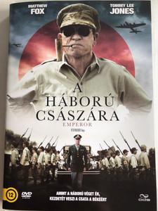 Emperor DVD 2012 A Háború Császára / Directed by Peter Webber / Starring: Tommy Lee Jones, Matthew Fox, Eriko Hatsune, Toshiyuki Nishida (5996471000432)