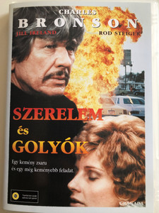 Love and Bullets DVD 1979 Szerelem és Golyók / Directed by Stuart Rosenberg / Starring: Charles Bronson, Jill reland, Rod Steiger (5999546330557)