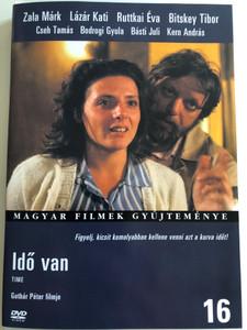 Idő Van DVD 1985 Time / Directed by Gothár Péter / Starring: Zala Márk, Lázár Kati, Ruttkai Éva, Bitskey Tibor, Cseh Tamás, Kern András / Hungarian movie (5999546331134)