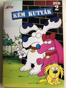 The Secret Files of the Spy Dogs Vol 2. DVD 1998 Kém Kutyák 2. DVD / Created by Jim Benton / Voices: Mary Kay Bergman, Jim Cummings, Michael Donovan, Jess Harnell, Charity James, Maurice LaMarche (5999883048771)