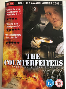 The Counterfeiters DVD 2006 / Directed by Stefan Ruzowitzky / Starring: Karl Markovics, August Diehl, Devid Striesow (5055002531095)