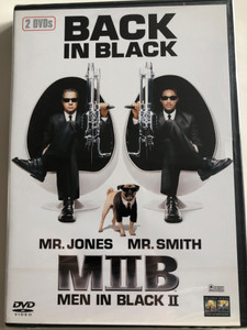 Men in Black II - Back in Black 2 DVD / Directed by Barry Sonnenfeld / Starring: Will Smith, Tommy Lee Jones (4030521327184)