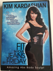 Kim Kardashian - Fit in your Jeans by Friday DVD 2009 / 2 Abs and Upper body Workouts / Amazing Abs Body Sculpt / Fitness Now TV (018713546821)