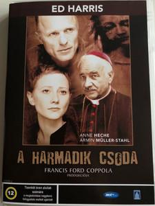 The Third Miracle DVD 1999 A Harmadik csoda / Directed by Agnieszka Holland / Starring: Ed Harris, Anne Heche, Armin Mueller-Stahl, Charles Haid (5998133137234)