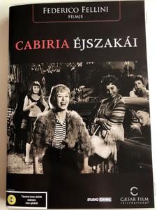 Cabiria Éjszakái DVD 1957 Le Notti di Cabiria / Directed by Federico Fellini / Starring: Giulietta Masina, François Périer, Franca Marzi, Dorian Gray, Amedeo Nazzari (5999554700809)