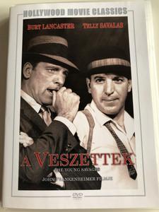 The Young Savages DVD 1961 A Veszettek / Directed by John Frankenheimer / Starring: Burt Lancaster, Telly Savalas / Hollywood movie classics (5999546333015)