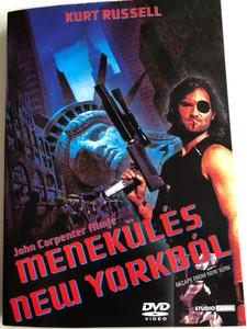 Escape from New York DVD 1981 Menekülés New Yorkból / Directed by John Carpenter / Starring: Kurt Russel, Lee van Cleef, Ernest Borgnine (5996051090372)