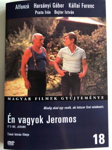 Én vagyok Jeromos DVD 1970 It's me, Jerome / Directed by Tímár István / Starring: Alfonzó, Harsányi Gábor, Kállai Ferenc, Psota Irén, Bujtor István / Magyar Filmek gyűjteménye 18 (5999546331226)