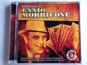 Soundtracks of Ennio Morricone / The Untouchables, Bugsy, Le Professionnel, The Mission, Per le Antiche Scale, The Good,the Bad & the Ugly, Sacco e Vanzetti, My name is Nobody, Marco Polo / S. C. Artmedia Audio CD / 08282 RNR