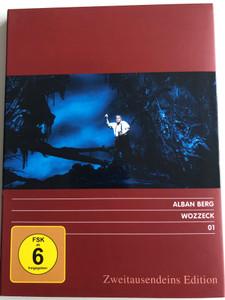 Alban Berg 01 - Wozzeck DVD 1987 Zweitausendeins Edition / Opera by opera by Austrian composer / GEMA / Vienna State Orchestra / Wiener Staatsoper (4250323705366)