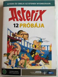 Le douze travaux d'Astérix DVD 1976 Asterix 12 Próbája (The Twelve Tasks of Asterix) / Directed by albert Uderzo, René Goscinny / Starring: Roger Carel, Jacques Morel, Georges Atlas (5998133179333)