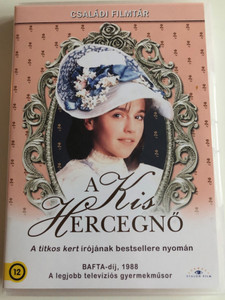 A little princess 2 DVD 1986 A Kis Hercegnő / British Miniseries Parts 1-2 / Directed by Carol Wiseman / Starring: Amelia Shankley, Maureen Lipman, Miriam Margoyles, Anette Badland / Based on F.H. Burnett's work (5999885039869)