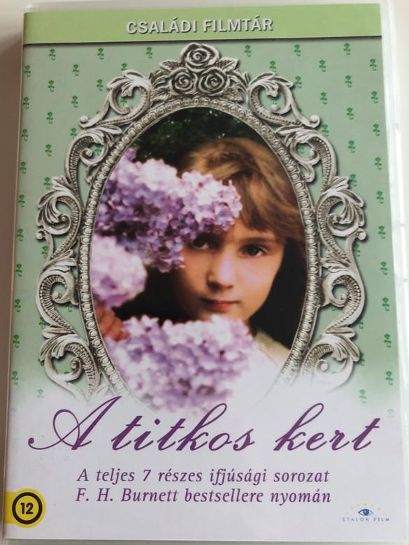 The Secret Garden 2xDVD 1975 A Titkos kert / Directed by Dorothea Brooking / Starring: Sarah Hollis Andrews, Hop Johnstone, William Marsh, David Patterson (5999886089047)