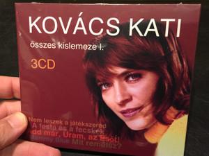 Kovács Kati – Összes Kislemeze I., 3 CD / Nem Leszek A Játékszered, A Festő És A Fecskék, Add Már, Uram, Az Esőt!, Mammy Blue, Mit Remélsz? / MMM Studio & Records 3x Audio CD 2019 / MI2019-12(3)