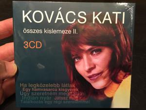 Kovács Kati – Összes Kislemeze II., 3 CD / Ha Legközelebb Látlak, Egy Hamvasarcú Kisgyerek, Úgy Szeretném Meghálálni, Indián Nyár, Játssz Még, Találkozás Egy Régi Szerelemmel / MMM Studio & Records 3x Audio CD 2019 / MI2019-13(3)