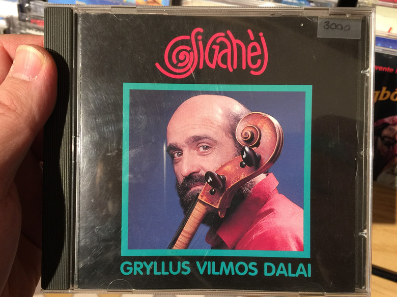 Gryllus Vilmos Dalai– Csigahéj / Treff Audio CD 1995 / TRCD 001