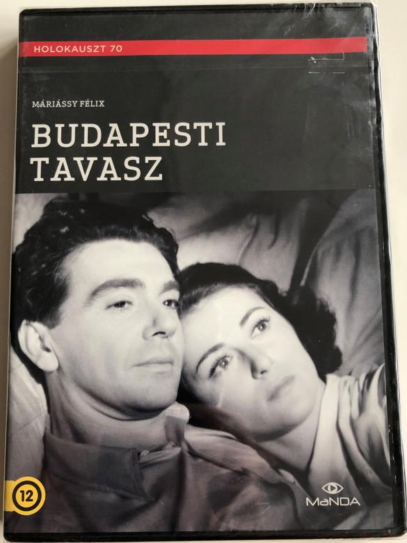 Budapesti Tavasz DVD 1955 Budapest Spring / Directed by Máriássy Félix / Holokauszt 70 / Starring: Gábor Miklós, Gordon Zsuzsa, Molnár Tibor, Rajnay Gábor, Mezey Mária, Darvas Iván (5999884681519)