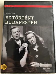 Ez történt Budapesten DVD 1944 / Directed by Hamza D. Ákos / Starring: Muráti Lili, Hajmássy Miklós, Rajnay Gábor, Ladomerszky Margit, Mákláry Zoltán, Kiss Manyi/ Aranykor / From the Golden age of Hungarian films (5999884681755)