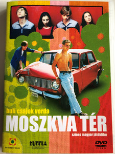 Moszkva Tér DVD 2001 Moscow Square / Directed by Török Ferenc / Starring: Karalyos Gábor, Pápai Erzsi, Balla Eszter, Csatlós Vilmos, Jávor Bence (5999544249035)