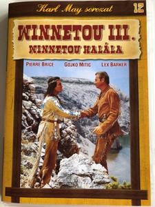 Winnetou 3. Teil DVD 1965 Winnetou III. Winnetou halála (The Desperado Trail) / Directed by Harald Reinl / Starring: Lex Barker, Pierre Brice (5996473001123)