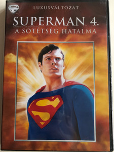 Superman IV - The Quest for Peace DVD 1987 Superman 4. A sötétség hatalma / Luxusváltozat / Directed by Sidney J. Furie / Starring: Christopher Reeve, Gene Hackman, Jackie Cooper (5996514004342)