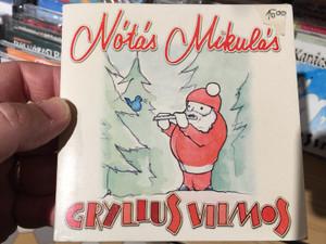 Gryllus Vilmos – Nótás Mikulás / Treff Audio CD 2003 / TRCD 006