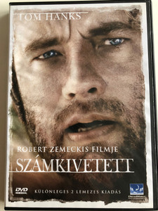 Cast Away DVD 2000 Számkivetett / Directed by Robert Zemeckis / Starring: Tom Hanks, Helen Hunt / 2 Disc Hungarian Special Edition (5996217428636)