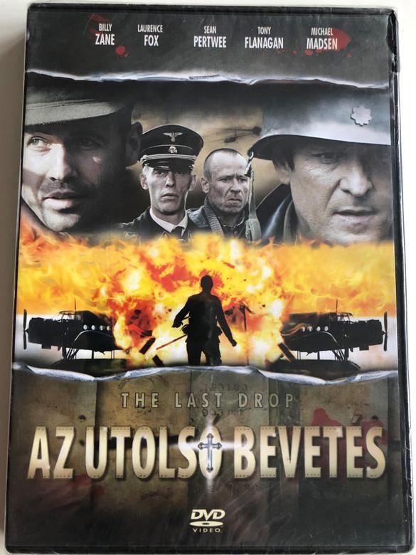 The Last Drop DVD Az Utolsó Bevetés / Directed by Colin Teague / Starring: Billy Zane, Michael Madsen, Karel Roden, Tommy Flanagan (5999882843827)