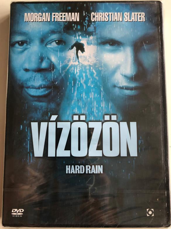 Hard Rain DVD 1998 Vízözön / Directed by Mikael Salomon / Starring: Morgan Freeman, Christian Slater, Randy Quaid (5999544254374)