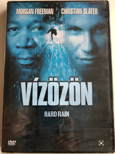 Hard Rain DVD 1998 Vízözön / Directed by Mikael Salomon / Starring: Morgan Freeman, Christian Slater, Randy Quaid (5999544254374)
