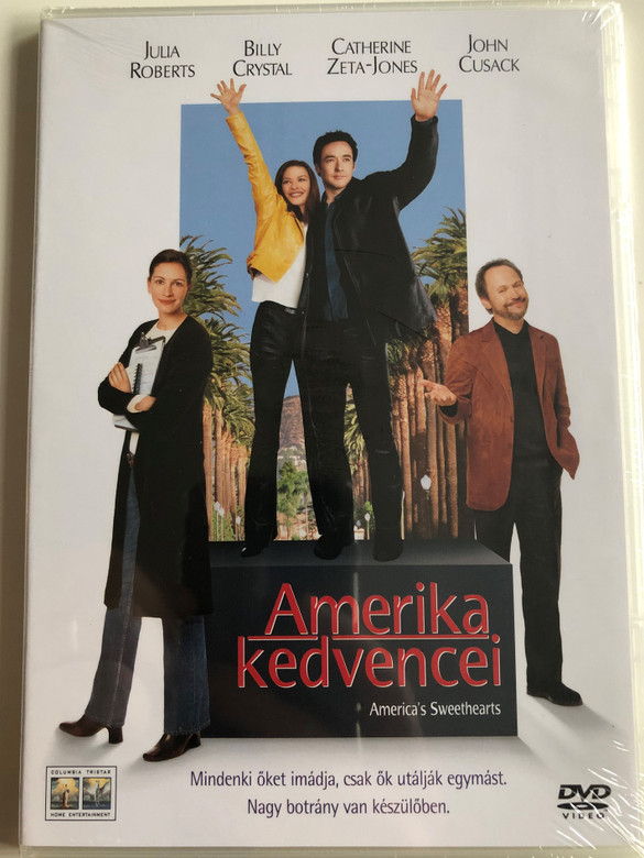 America's Sweethearts DVD 2001 Amerika kedvencei / Directed by Joe Roth / Starring: Julia Roberts, Billy Crystal, Catherine Zeta-Jones, John Cusack (AmericasSweetheartsDVD)