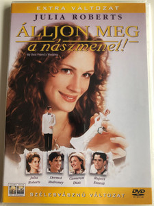 My Best Friend's Wedding DVD 1997 Álljon meg a nászmenet! / Directed by P. J. Hogan / Starring: Julia Roberts, Dermont Mulroney, Cameron Diaz / Special Edition (BestFriendsWeddingDVD)