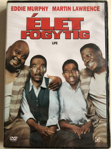 Life DVD 1999 Élet fogytig / Directed by Ted Demme / Starring: Eddie Murphy, Martin Lawrence (5999544254145)